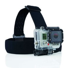 GoPro Action Cam Head Strap w/ 3 Stripe Anti-Slide Glue for GOPRO, BRICA B-PRO & Xiaomi Yi Camera