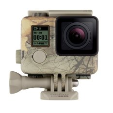GoPro Camo Housing + QuickClip (Realtree Xtra) Waterproof Case