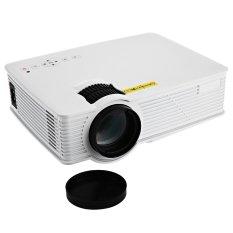 GP-9 Mini 2000 lumen 1920 x 1080 piksel proyektor LCD putih