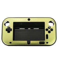 Hard Aluminum Skin Cover Case For Nintendo Wii U Gamepad Remote Controller Green - Intl