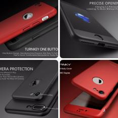Hardcase 360 Casing Full Body Depan Belakang Free Tempered Glass iPhone 6 Plus/ 6S Plus