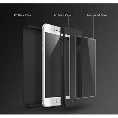 Hardcase 360 Full Body Xiaomi Redmi 3 Pro Free Tempered Glass (Hitam)