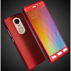Hardcase Casing Full Body 360 Free Tempered Glass Xiaomi Redmi Note 4X / Redmi note 4