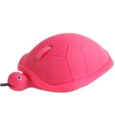 HAWEEL Turtle Style USB 3D Optical Mouse (Magenta) (Magenta)