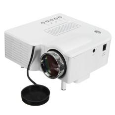 HD 1080P Rumah Sinema Proyektor Portabel Mini Teater Kita (Putih)- intl