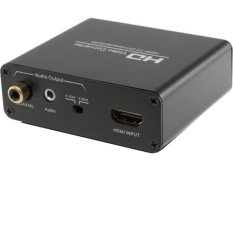 HD Video Converter HDMI To DVI And Audio - ELET00005 - Black