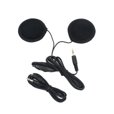 Headset MP3 CD Radio Earphone Speaker For Motorcycle Helmet (Black) (Intl)