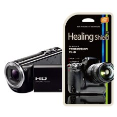 HealingShield Sony HDR PJ380 Screen Protector Set Of 2 (Clear)