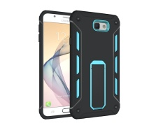 [Heavy Duty] Soft TPU & Hard PC Rugged Dual Layer Case Cover with Kickstand for Samsung Galaxy J7 2016 / J710 - intl