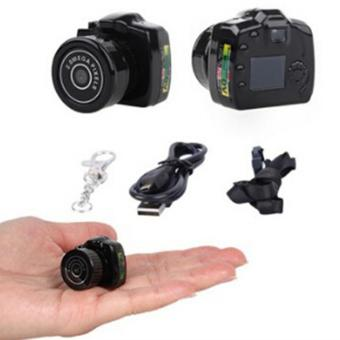 HengSong 2MP HD Mini DV Digital Camera Video Recorder Camcorder Webcam DVR Spy Outdoor Recorder(Black) - intl