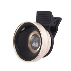 High-End 2 In 1 Phone Lens 0.45X 49 MM Wide And 12.5 X Macro SLR Camera - intl