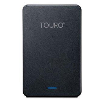 Hitachi Touro 1TB Hard Disk External - Hitam