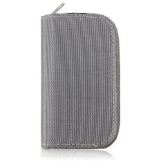 HKS 22 Slots SDHC MMC Micro SD Memory Card Storage Carrying Wallet Pouch Holder Case (Grey) (Intl)