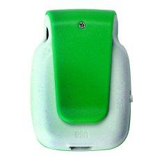 HKS 32GB Mini Clip Metal USB MP3 Player Support Micro SD TF Card Music Media (Green) (Intl)