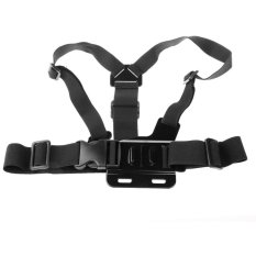 HKS 5 In 1 Wearing Accessories Kit Wrist Strap Head Strap Flat Base For GoPro (Black) (Intl)