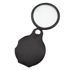 HKS 8X Magnifier Pocket Folding Glass Loupe Lens (Intl)