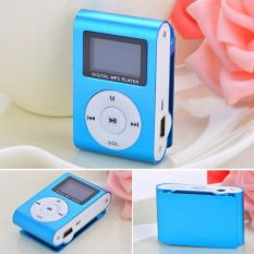 HKS GETEK 32GB USB FM Radio MP3 Player (Blue) (Intl)