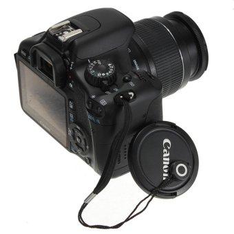 HKS Lens Cover Cap Keeper Holder Strap Rope For Canon Pentax Nikon DSLR Camera