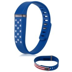 HKS Replacement Wristband Band For Fitbit Flex Smart Bracelet With Clasp No Tracker USA Flag