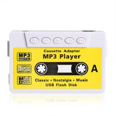 HKS USB Flash Disk Cassette Speaker (White / Yellow) (Intl)