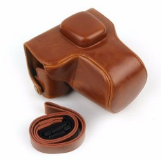 Hot Sale! NEW Camera Leather Case Cover For Olympus EPL7 E-PL7 Camera With Shoulder Strap With High Quality!Free Shipping Color:Brown - Intl