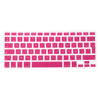 Housse Keyboard Clavier Protection Silicone UK EU FR Pr Macbook Air Pro 1.15 17