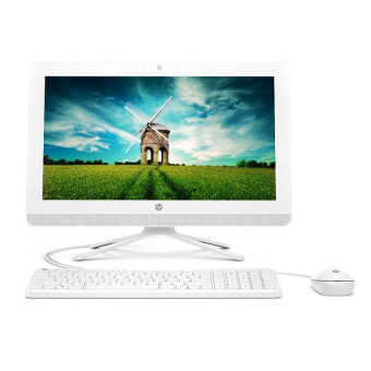 "HP PC All in One 20-c006L - AMD E2-7110 - 4GB RAM - 19.45"" - DOS - Putih"