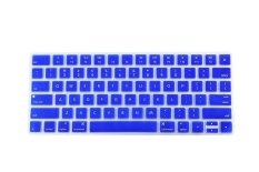HRH Hot New Keyboard Cover Silicone Skin Protector Film For Apple Magic Keyboard MLA22B / A US Keyboard Layout (Blue) - Intl