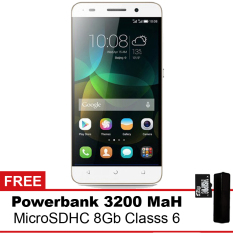 Huawei Glory Play 4X - 8GB - Putih + Powerbank + MMC 8Gb