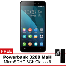 Huawei Honor 4x - 8GB - Hitam + Powerbank + MMC 8Gb