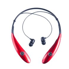 HV-900 Wireless Bluetooth Headset In-Ear Earbuds Earphone Headphone (Ultra Lightweight Neckband Design Plus Astonishing Sound Quality) Red