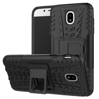 Hyun Pattern Dual Layer Hybrid Armor Kickstand 2 in 1 Shockproof Case Cover for Samsung Galaxy J5 Pro 2017 J530 (European Version) - intl