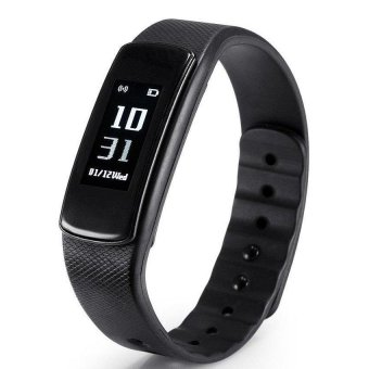 I6 IWOWN HR Wristband Smart Watch Heart Rate Monitor Bluetooth 4.0 Waterproof Fitness Tracker Bracelet For IOS And Android - intl