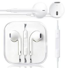 Icantiq Handsfree For Apple iPhone 5/5c/5s Headset / Earphone For All Phone Model Stereo - White/Putih