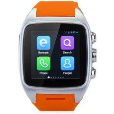 IMacwear M7 Android 4.4 3G Smart Watch Phone MTK6572 Dual Core 1.0GHz IP67 Waterproof 5MP GPS Bluetooth (Orange)