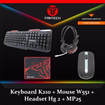 Harga Fantech Mouse Wireless W551 Abu Free Mousepad Blank - Komputer Terbaru .