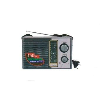 Internasional Radio F-100 FM / AM / SW Portable Radio