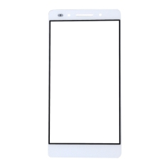 IPartsBuy Front Screen Cover Plate / Outer Glass Lens For Huawei Honor 7 (White) - Intl
