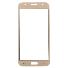 IPartsBuy Front Screen Cover Plate / Outer Glass Lens For Samsung Galaxy J7 / J700 (Gold) (Intl) - Intl