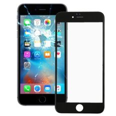 IPartsBuy Front Screen Outer Glass Lens With Front LCD Screen Bezel Frame For IPhone 6s Plus (Black) - Intl