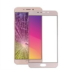 IPartsBuy OPPO R9 Front Screen Outer Glass Lens (Gold)