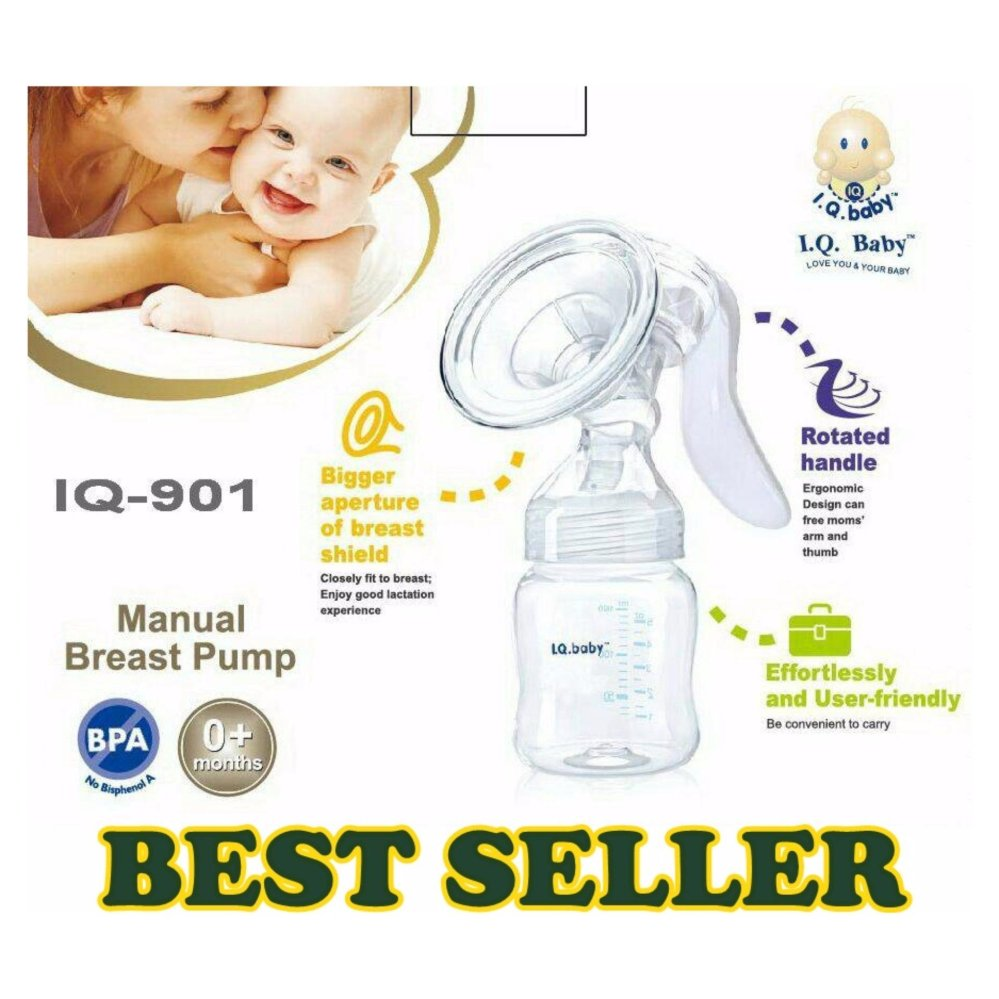 IQ Baby Manual Breastpump Rotated Handle / pompa asi / breast pump