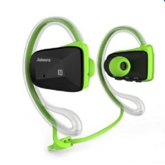 Jabees BSport Sports Waterproof / Sweatproof NFC Bluetooth V4.0 Headphone Headset - Hijau