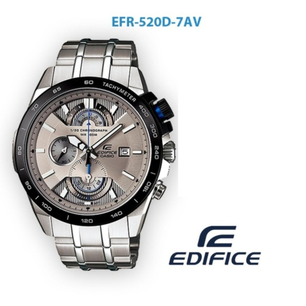 Jam Tangan Pria Formal Casio Edifice EFR 520D-7AV
