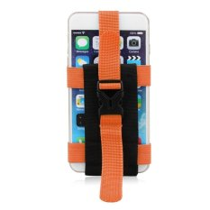 JANGO Running Sport Mobile Phone Bag Arm Case Holder Hanging Bags Outdoor Sports Equipment Phone Pocket Case Phone Pouch (Orange) (Intl)