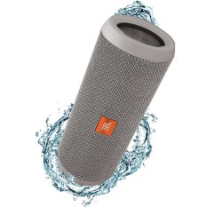 JBL Flip 3 Splashproof Portable Bluetooth Speaker - Abu-abu