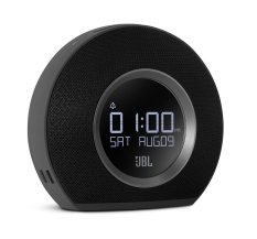 JBL Horizon Bluetooth Clock Radio With 2 USB Port Fast Charger - Ambient Light Speaker - Hitam