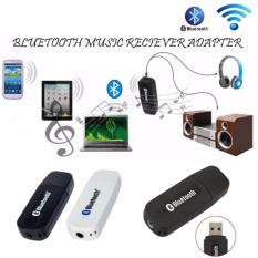 Lucky Bluetooth Music 3.5mm Jack Audio Stereo Music Receiver Adapter Untuk Speaker / 1Pcs