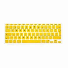 Apple Mac-book Air / Mac-book Pro JH Silicone Keyboard Cover Skin 11 Inch (Yellow) (Intl)