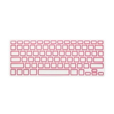 Apple Mac-book Air / Mac-book Pro JH Silicone Keyboard Cover Skin 13 Inch (Box Powder) (Intl)